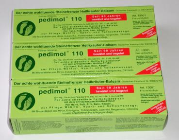 3x Pedimol 110 ( 3 x100 ml)